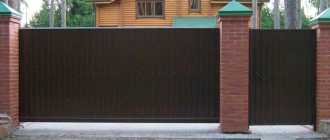 Ворота и калитки, фото