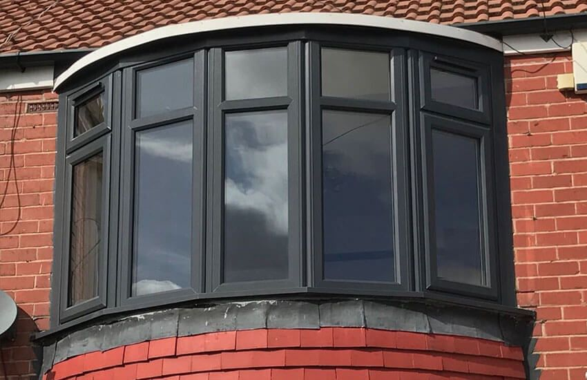 Эркерные окна, фото