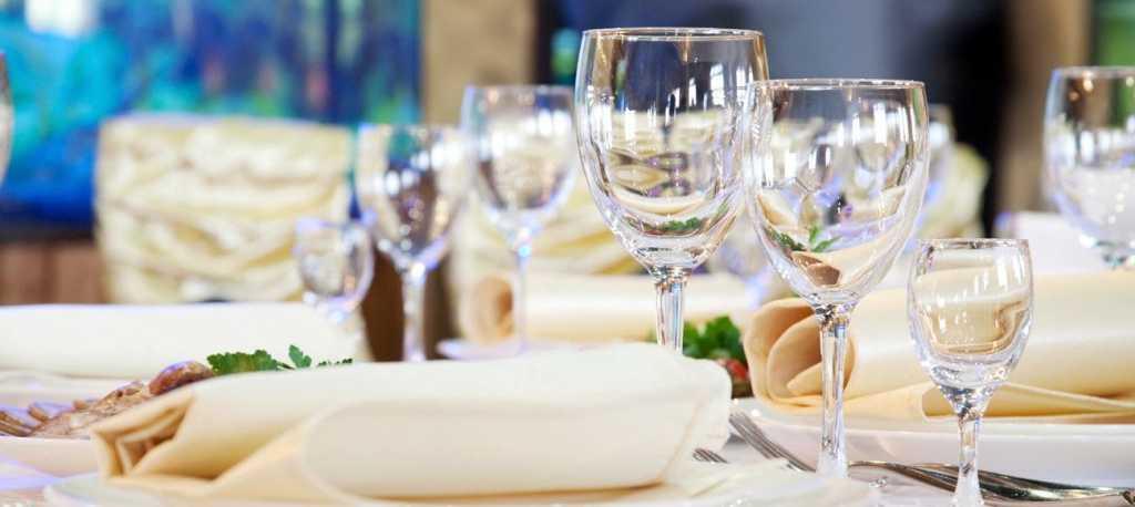 Красивая и грамотная сервировка стола