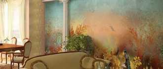 Фрески в интерьере, фото