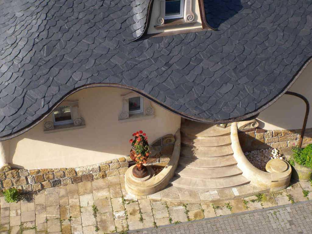 фото небоычного крыльца дома
