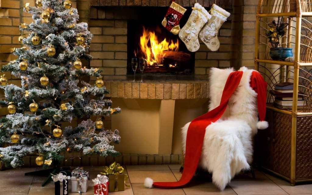 Фото елки и новогоднего интерьера