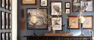 Украшение стен, приемы дизайна, фото